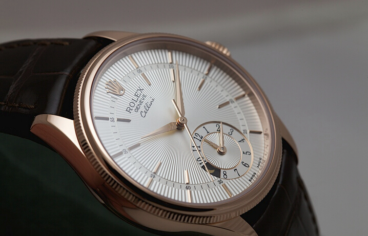 Rolex Cellini Dual Time 39mm Replica