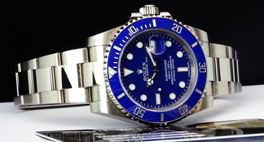 Blue rolex submariner watches replica