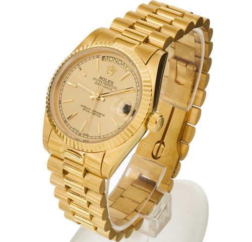 gold rolex day-date replica watch