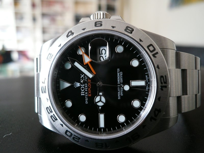 Rolex Explorer ii 42mm Watch Replica