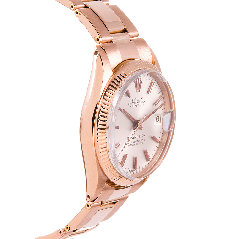 rose gold Rolex Datejust 31mm replica Watch