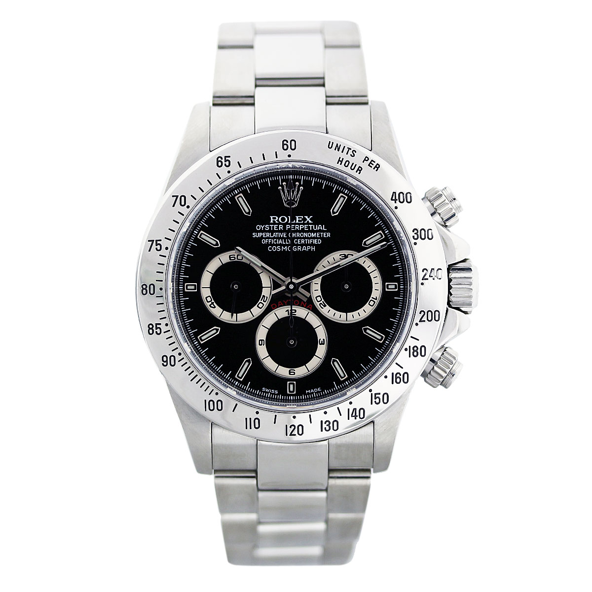 Black replica rolex daytona two tone watches